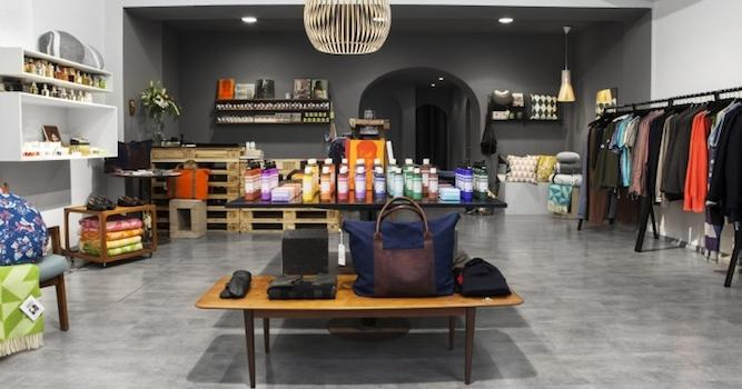 Store interiors which attract the customers